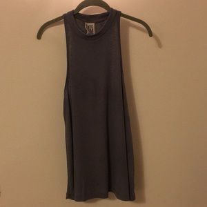 Free People Gray Tank worn once!! Size L